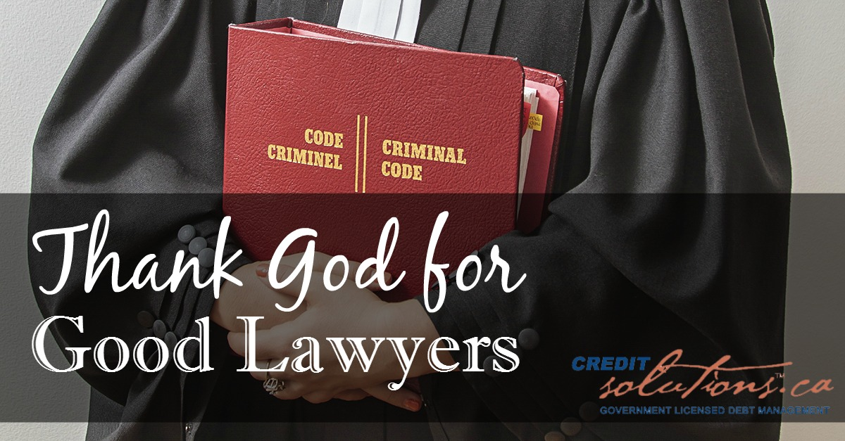thank god for good lawyers